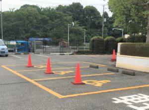 福祉車両駐車時用 (2)