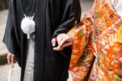 和装の結婚式イメージ