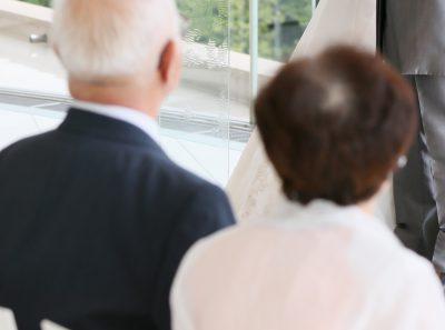 祖父母の結婚式出席 イメージ