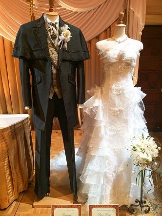 ミラコスタドレスのグラナートとプーラフォンテ前