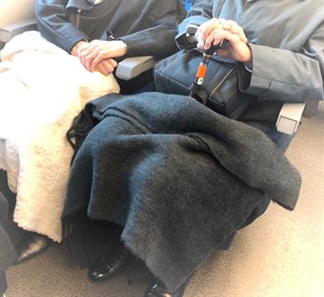 高齢者の新幹線旅